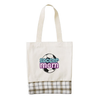 Soccer Mom Zazzle HEART Tote Bag