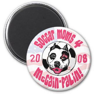 Soccer Moms 4 McCain Palin Magnet