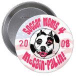 Soccer Moms 4 McCain Palin Pin