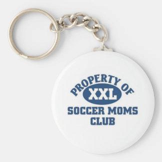 Soccer moms club key chains