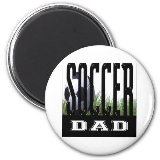 Soccer Mom's & Dad's 2 Inch Round Magnet