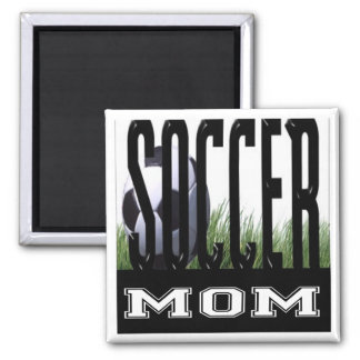 Soccer Mom's & Dad's 2 Inch Square Magnet