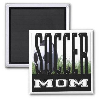 Soccer Mom's & Dad's 2 Inch Square Magnet