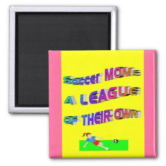 Soccer Moms Refrigerator Magnet