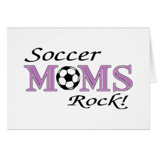 Soccer Moms Rock Card