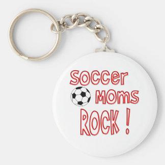 Soccer Moms Rock ! Keychains