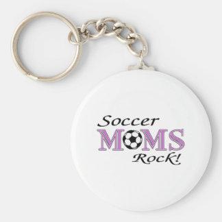 Soccer Moms Rock Keychain