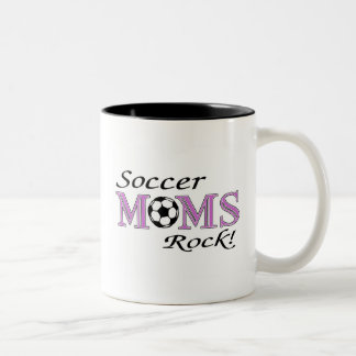 Soccer Moms Rock Two-Tone Coffee Mug