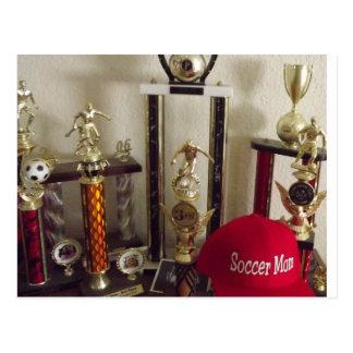 Soccer MOMS RULE Postcard