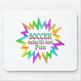 Soccer More Fun Mouse Pad