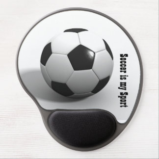 Soccer mouse pad gel mouse pad