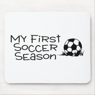 Soccer My First Soccer Season Mouse Pad