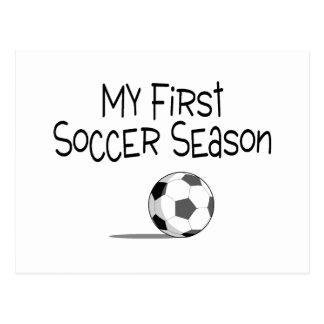 Soccer My First Soccer Season (Soccer Ball) Postcard