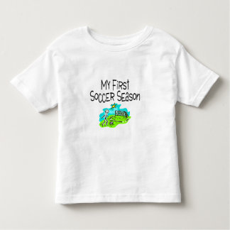 Soccer My First Soccer Season Stick Figues Toddler T-shirt