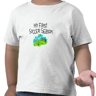 Soccer My First Soccer Season Stick Figues T Shirts