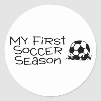 Soccer My First Soccer Season Stickers