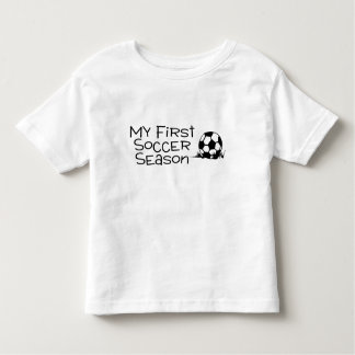 Soccer My First Soccer Season Toddler T-shirt