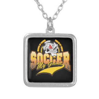 Soccer My Game Custom Necklace
