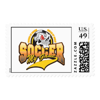Soccer My Game Postage Stamp