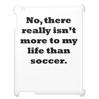 Soccer My Life iPad Cover