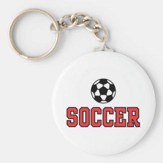 Soccer N Ball12 Keychain