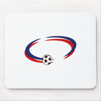 Soccer Name Drop Mouse Pad