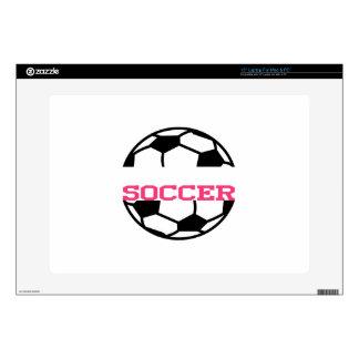 Soccer Name Drop Laptop Skins