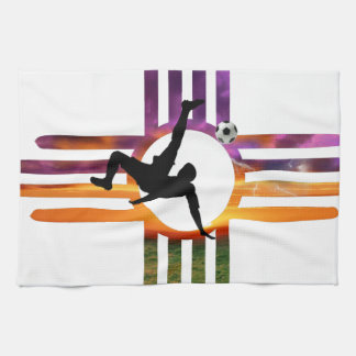 Soccer New Mexico Kitchen Towel