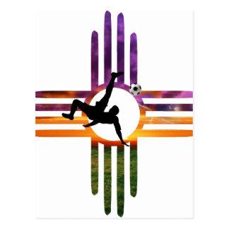 Soccer New Mexico Postcard