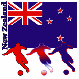 Soccer New Zealand Cutout