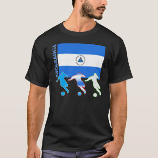Soccer Nicaragua T-Shirt