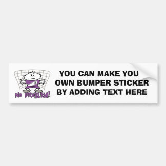 Soccer No Problem T-shirts and Gifts Bumper Sticker