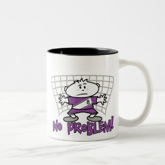 Soccer No Problem T-shirts and Gifts Two-Tone Coffee Mug