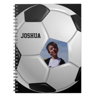 Soccer Spiral Note Book