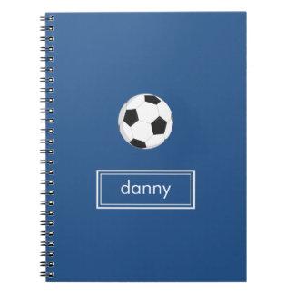 Soccer Notebook (Blue)