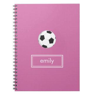 Soccer Notebook (Pink)