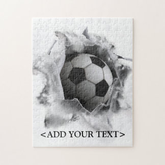 soccer novelty gift jigsaw puzzle