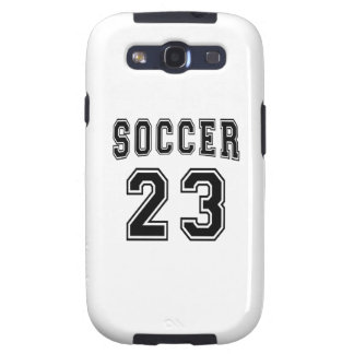 Soccer Number 23 Designs Galaxy S3 Cover