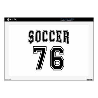 Soccer Number 76 Designs Skin For Laptop