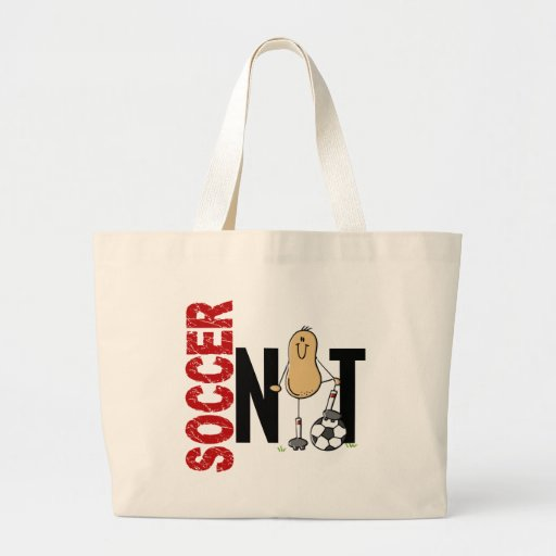 Soccer Nut 1 Canvas Bags