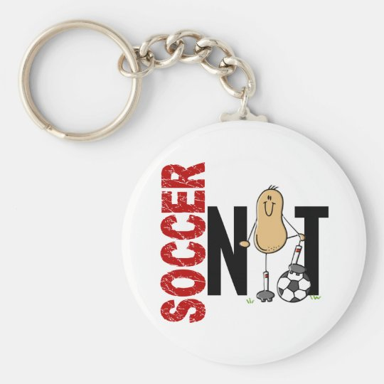 Soccer Nut 1 Keychain