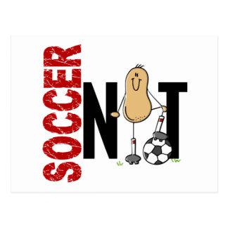 Soccer Nut 1 Postcard