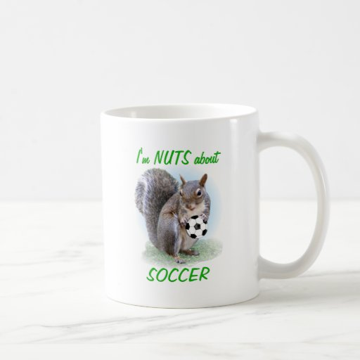 Soccer Nut Classic White Coffee Mug