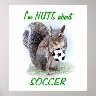 Soccer Nut Poster