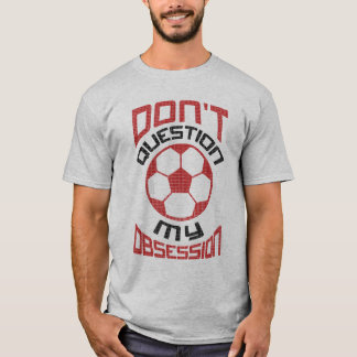 Soccer Obsession Name and Number Back Print Tee