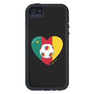 """Soccer of Cameroun, Soccer """"CAMEROUN"""" FOOTBALL iPhone SE/5/5s Case"""