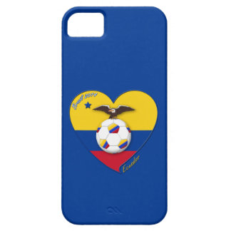 Soccer of ECUADOR. Ecuadorian National Team Soccer iPhone SE/5/5s Case