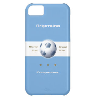 Soccer of the Argentina Selection flag champions iPhone 5C Cover