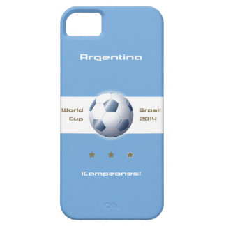 Soccer of the Argentina Selection flag champions iPhone SE/5/5s Case