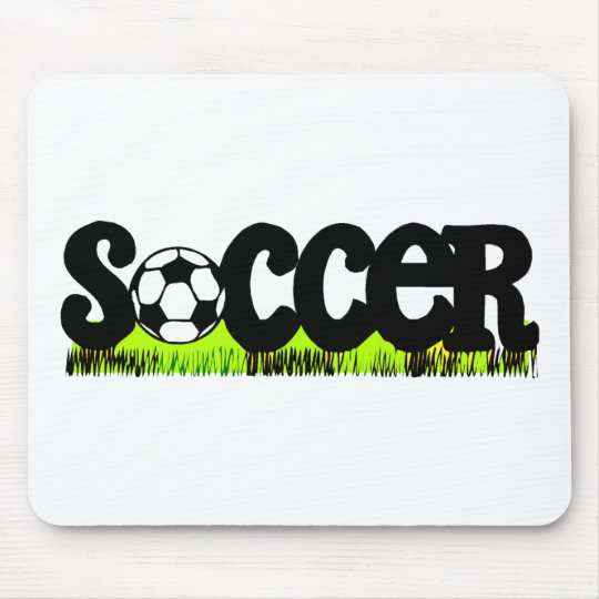 Soccer (On Grass) Mouse Pad